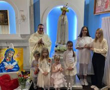 Вознесение Господне и Процессия в честь Матери Божией Фатимской в приходе Челябинска (ФОТО)