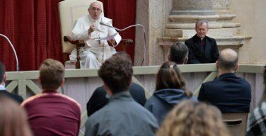 После длительного перерыва Папская общая аудиенция вновь прошла с участием верных
