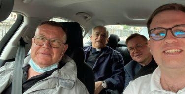 Начался визит Апостольского нунция в Санкт-Петербург
