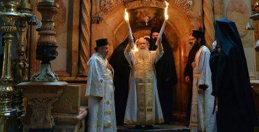 Благодатный огонь как экуменическое событие: интервью Патриарха Феофила III