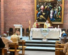 В главном храме Преображенской епархии отпраздновали Вознесение Господне (ФОТО)