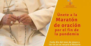 Присоединяйтесь с Розарием в руках к молитвенному «марафону» о прекращении пандемии