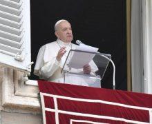 Слово Папы Франциска перед чтением молитвы «Ангел Господень» в торжество Пресвятых Тела и Крови Христа. 6 июня 2021 г., площадь Святого Петра