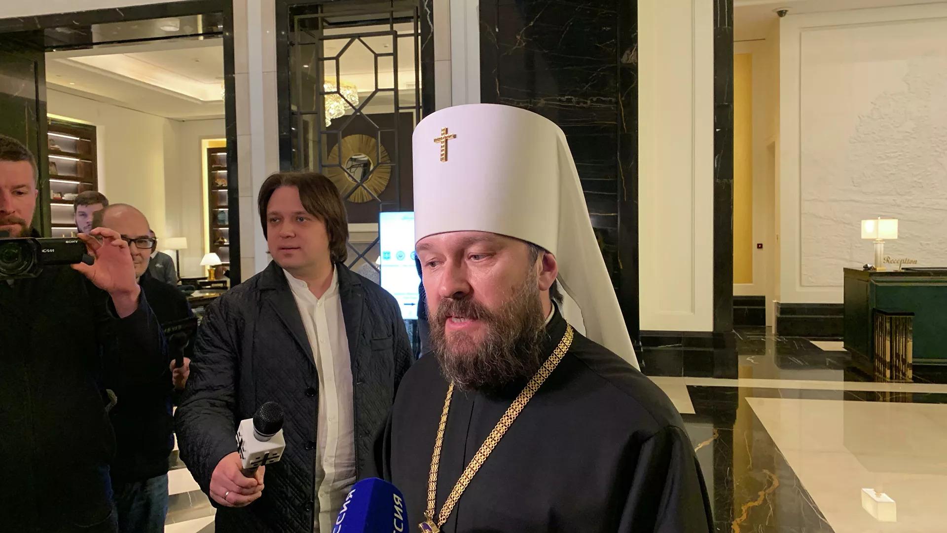 В РПЦ прокомментировали возможность объединения православных с католиками