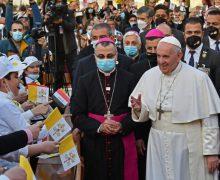 Папа Франциск: Ближний Восток призван оставаться хранителем веры