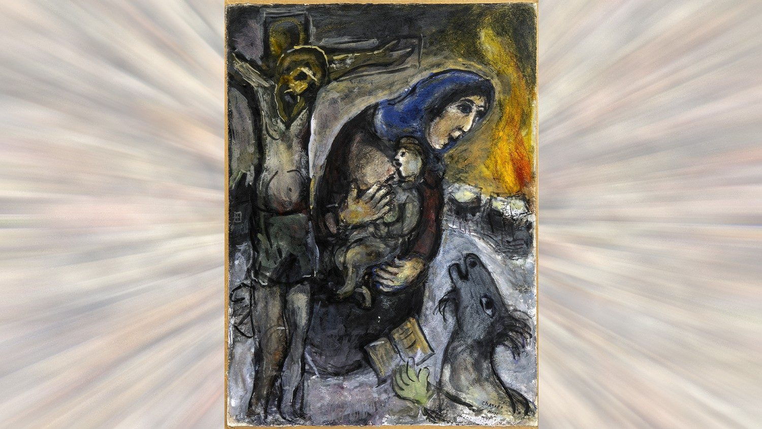 Марк Шагал и Библия. Переосмысление Св. Писания в живописи