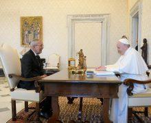 Папа встретился с президентом Австрии
