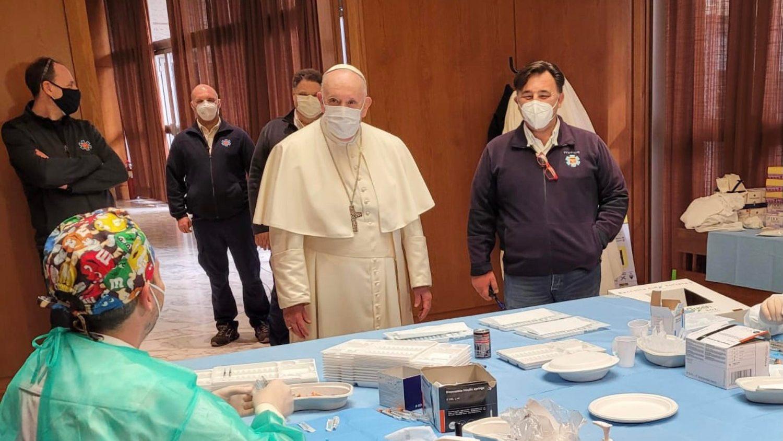 В Ватикане завершилась кампания вакцинации самых нуждающихся