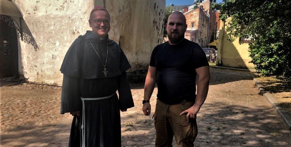 Епископ-францисканец знает, кто придумал Выборгский крендель