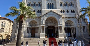 Кардинал Паролин посетил Монако (+ФОТО)