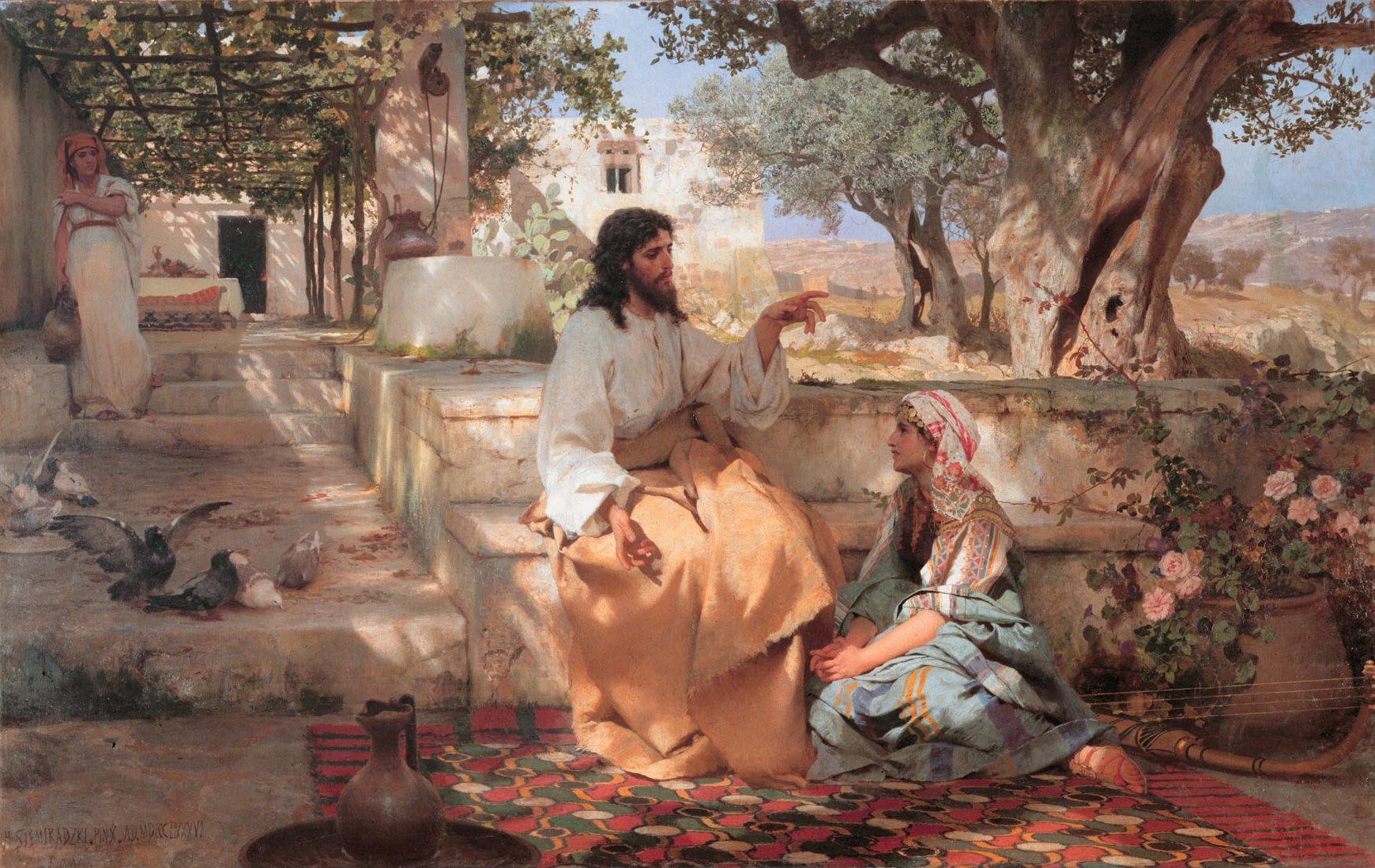 Библейские рассказы. Марфа и Мария