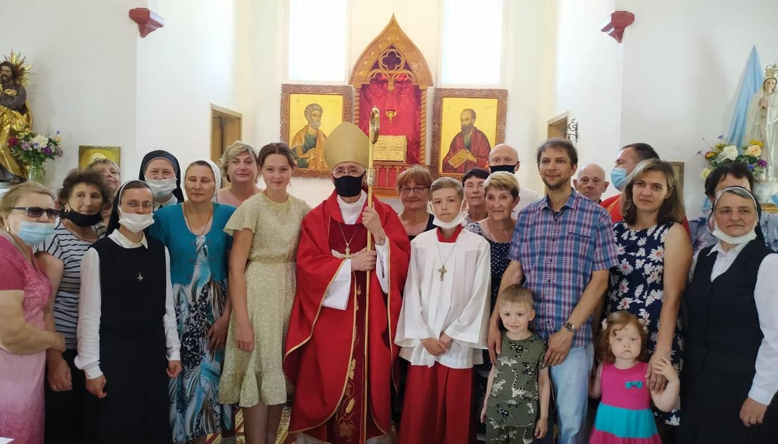 Визитация Преосвященного Иосифа Верта в приходы Куйбышева и Добринки (+ ФОТО)