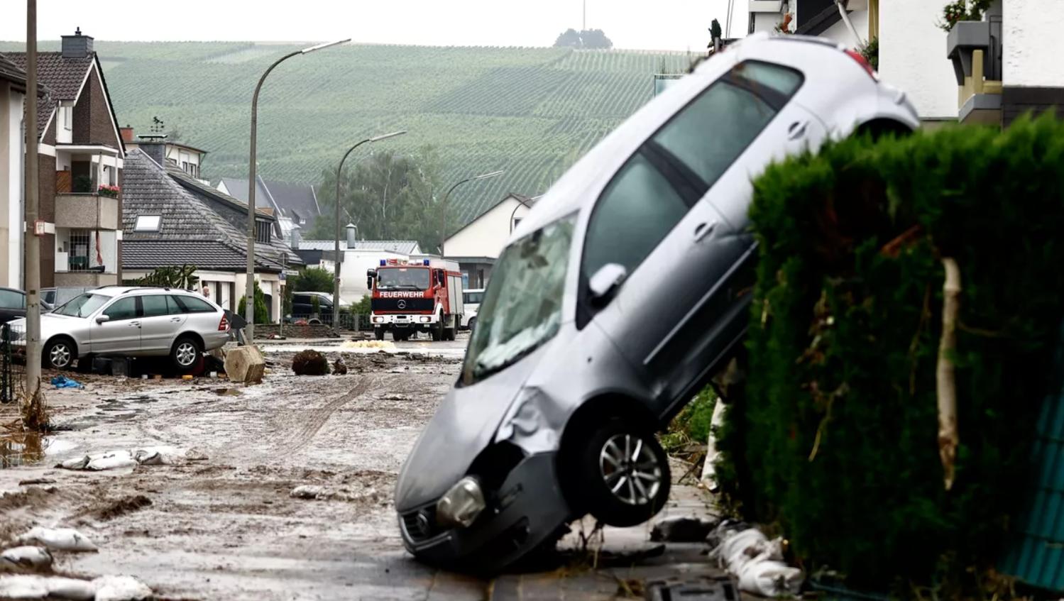 Германия: служение людям в затопленном городе. Рассказ священника