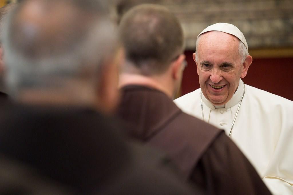 Папа – францисканцам: обнимайте отверженных мира сего