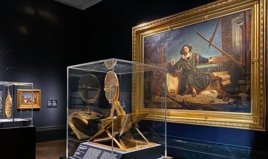 """Выставка «Беседы с Богом. """"Коперник"""" Яна Матейко» проходит в лондонской Национальной галерее"""