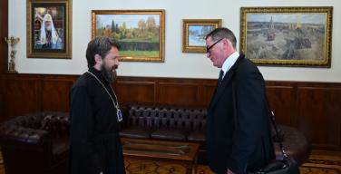 Председатель ОВЦС встретился с представителем фонда Kirche in Not