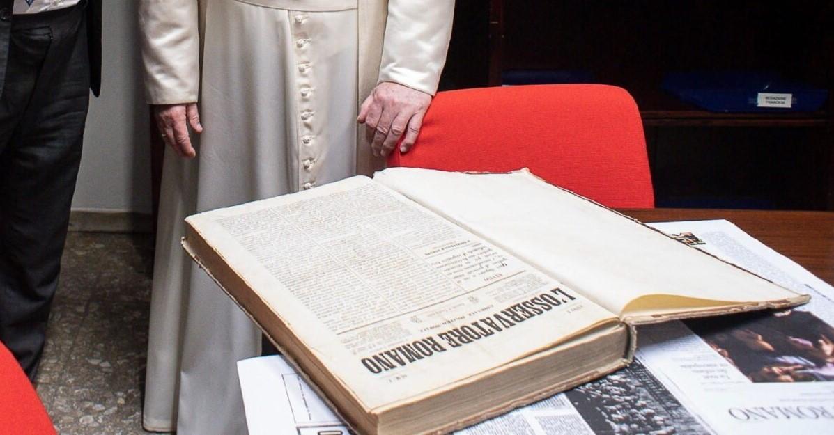 Ватиканскому изданию L'Osservatore Romano исполнилось 160 лет
