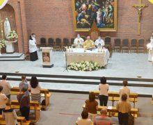 Главное богослужение «Фаворской недели» состоялось в Кафедральном соборе Новосибирска