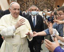 Общая аудиенция Папы: функция Закона заканчивается, когда мы выбираем свободу