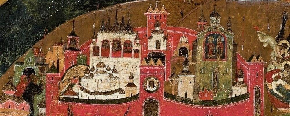 В новгородском храме ХII века, построенном по заказу Садко, нашли фрески и кладку в древнеримской технике