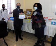 Подарки Папы Франциска для католической больницы «Добрый пастырь» в Ситеки (Эсватини)