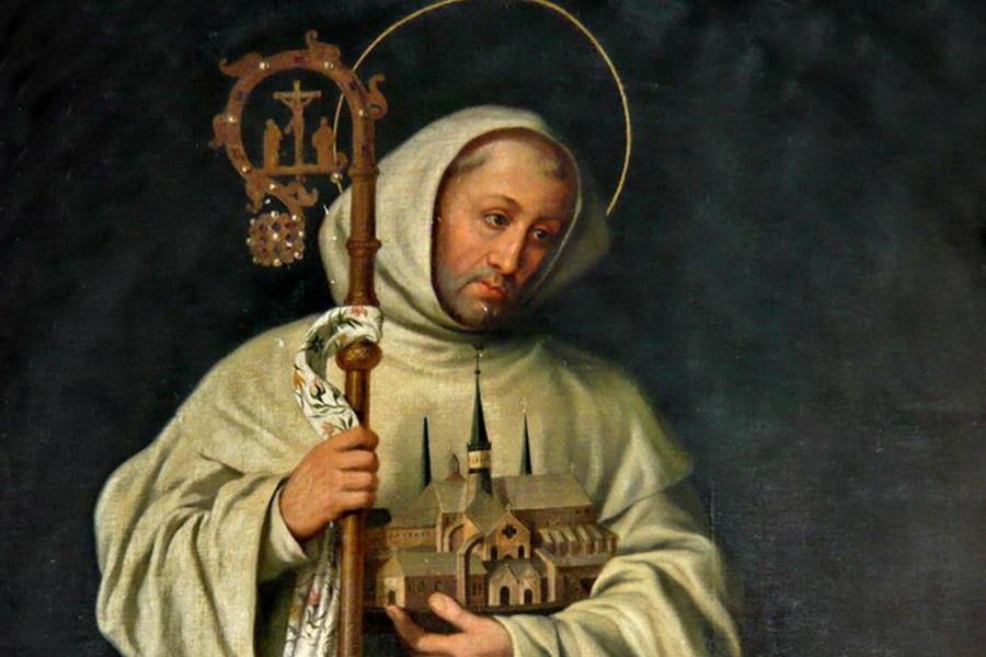 20 августа. Святой Бернард Клервосский, авва и Учитель Церкви. Память