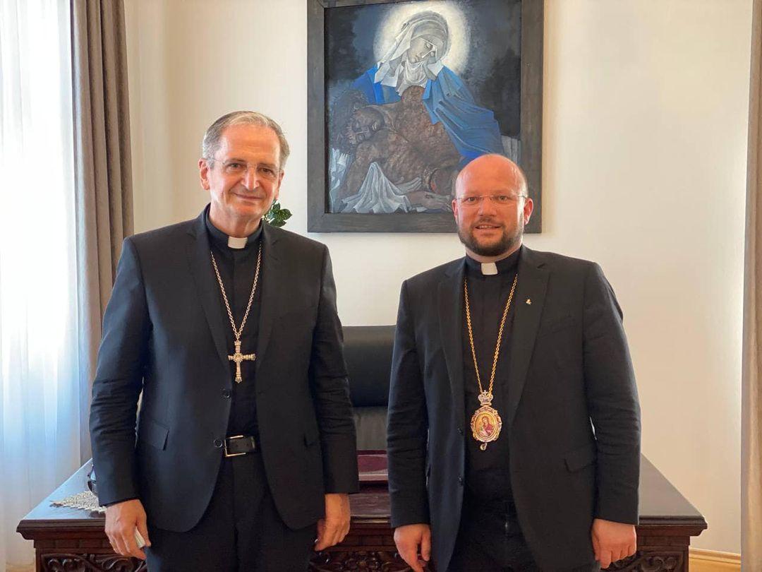 Представитель УГКЦ обсудил участие общины в мероприятиях по случаю визита Папы в Словакию
