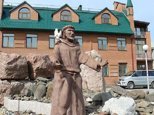 Посвященная Порциунколе община францисканцев в Уссурийске отмечает свой праздник