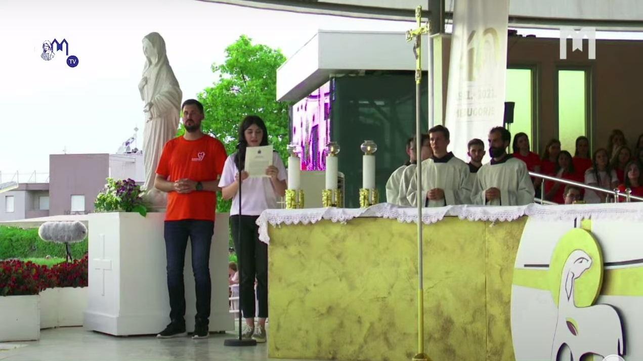 Папа – молодёжи в Меджугорье: смело доверьтесь Богу