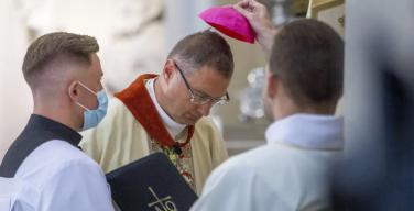 Новый нунций на Украине Висвальдас Кульбокас рукоположен во епископа