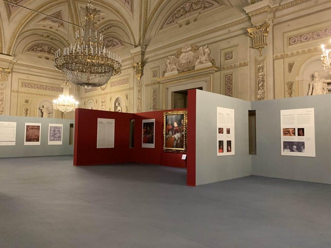 В палаццо Питти во Флоренции проходит выставка «Рафаэль и возвращение Льва X: реставрация и открытие»