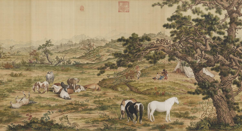 Джузеппе Кастильоне – монах-иезуит, миссионер и придворный художник императоров Китая