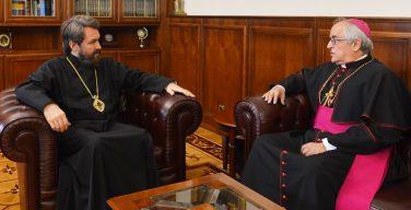Апостольский нунций в России встретился с Председателем ОВЦС