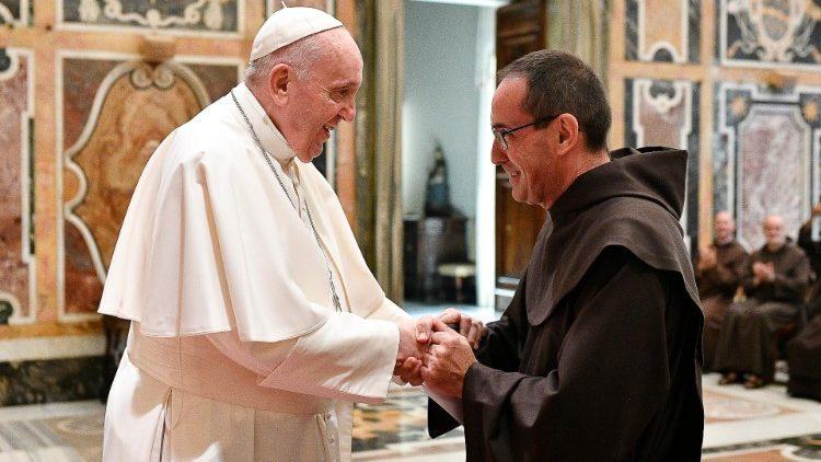 Папа Франциск призвал кармелитов к верности их изначальной харизме