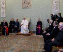 Папа Франциск встретился с епископами – друзьями Движения Фоколяров