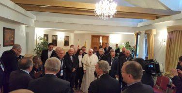 О чём говорил Папа Франциск в ходе встречи со своими собратьями по Ордену иезуитов в Словакии