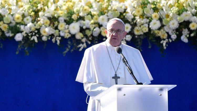 Папа Франциск в Словакии – день второй: встреча с политическим истеблишментом и католическим духовенством