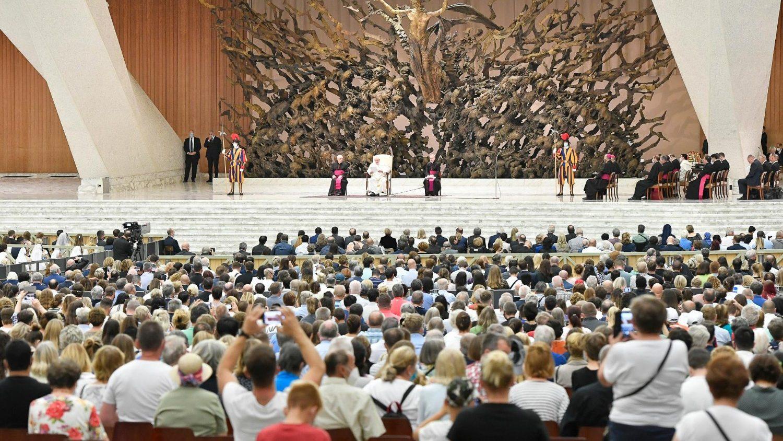 Общая аудиенция Папы 29 сентября: оправдание верой и праведность верующих
