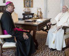 Папа встретился с новым Апостольским нунцием на Украине