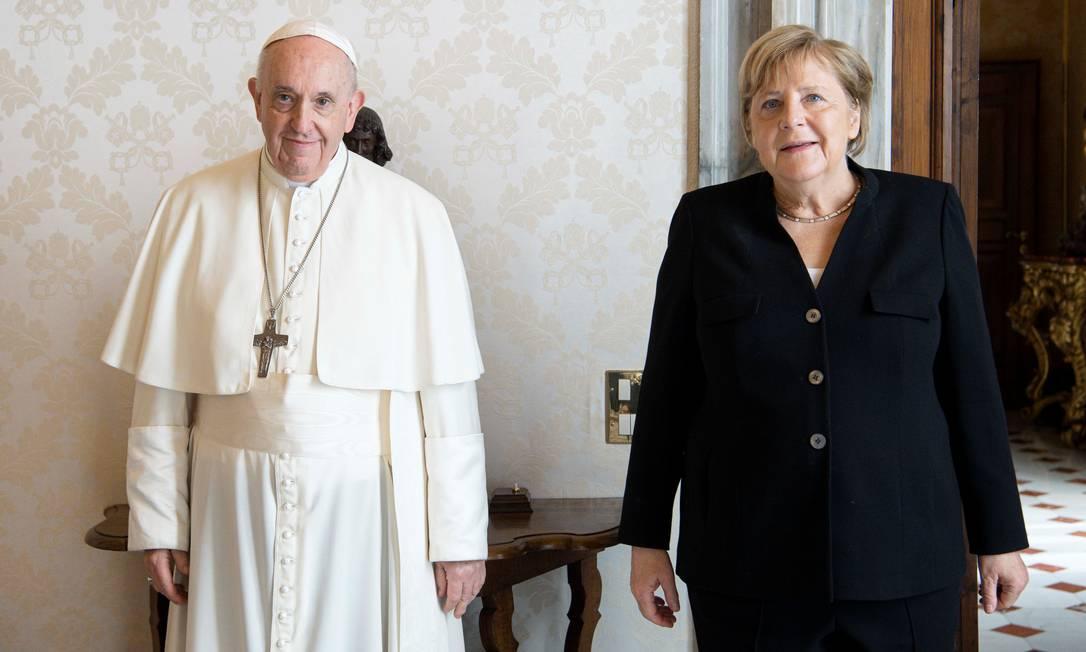 Папа Франциск встретился с канцлером Германии (+ ФОТО)