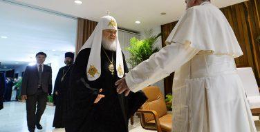 Митрополит Иларион анонсировал новую встречу Папы Римского с Патриархом Московским