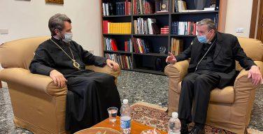 Митрополит Иларион в Риме встретился с кардиналом Куртом Кохом