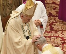 Папа на Мессе хиротонии: епископство – это служение, а не почётное звание