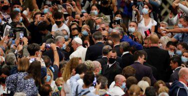Общая аудиенция Папы Франциска 6 октября 2021 года (+ ФОТО)