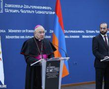 Ереван просит Папу Франциска помочь освобождению армянских пленных