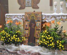 В Новосибирском приходе на Левобережье почтили память Святого Франциска и поздравили своего Владыку с днем рождения