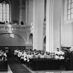 Богослужение в семинарском храме в Каунасе