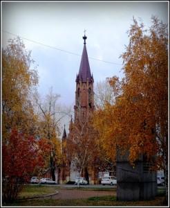 Храм Успения Богородицы в Иркутске