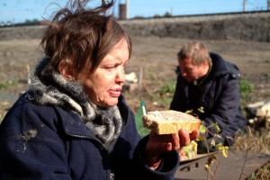 Жители городской свалки Новосибирска