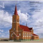 Проект католического храма в Сургуте